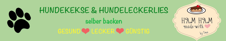 Hundekekse & Hundeleckerlies Selber Backen